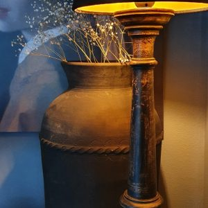 Stenen pot uit India voor een stoer interieur - Benard's Woonaccessoires