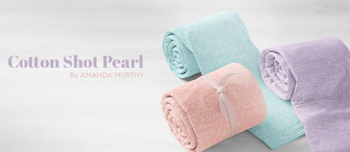 Cotton Shot Pearl by Amanda Murphy