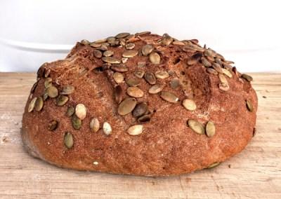 Pan integral sin gluten 100% trigo sarraceno