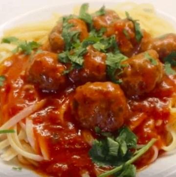 Spaghetti And Meatballs Recipe Italian