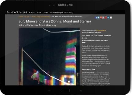 Galaxy Tab ErskineSolar SunMoonStars