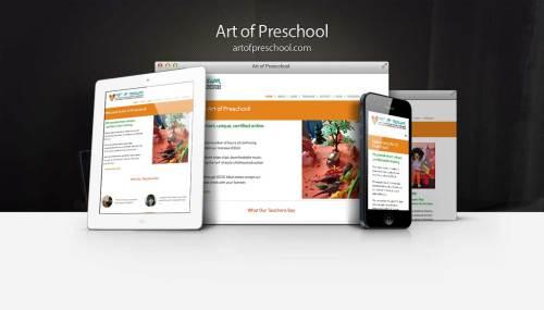 ArtofPreschool Responsive Showcase