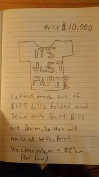idea for high-end big baller t-shirt