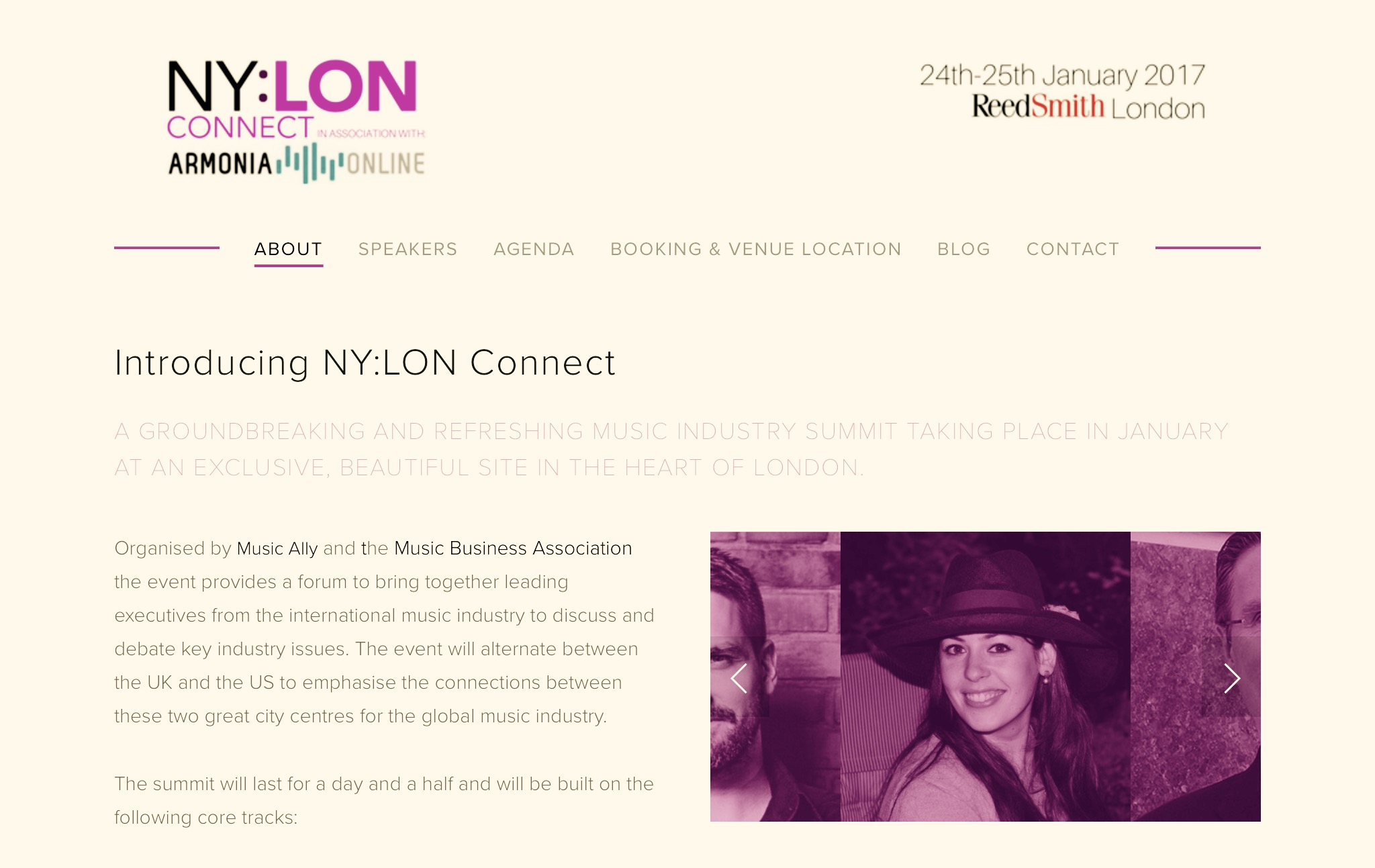 Speaking at NY:LON Thanks to MusicAlly and the Music Business Association