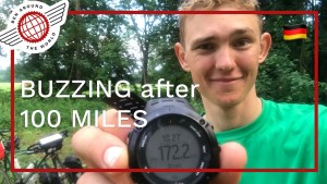 Video Diary: BUZZING after an 100 MILE DAY