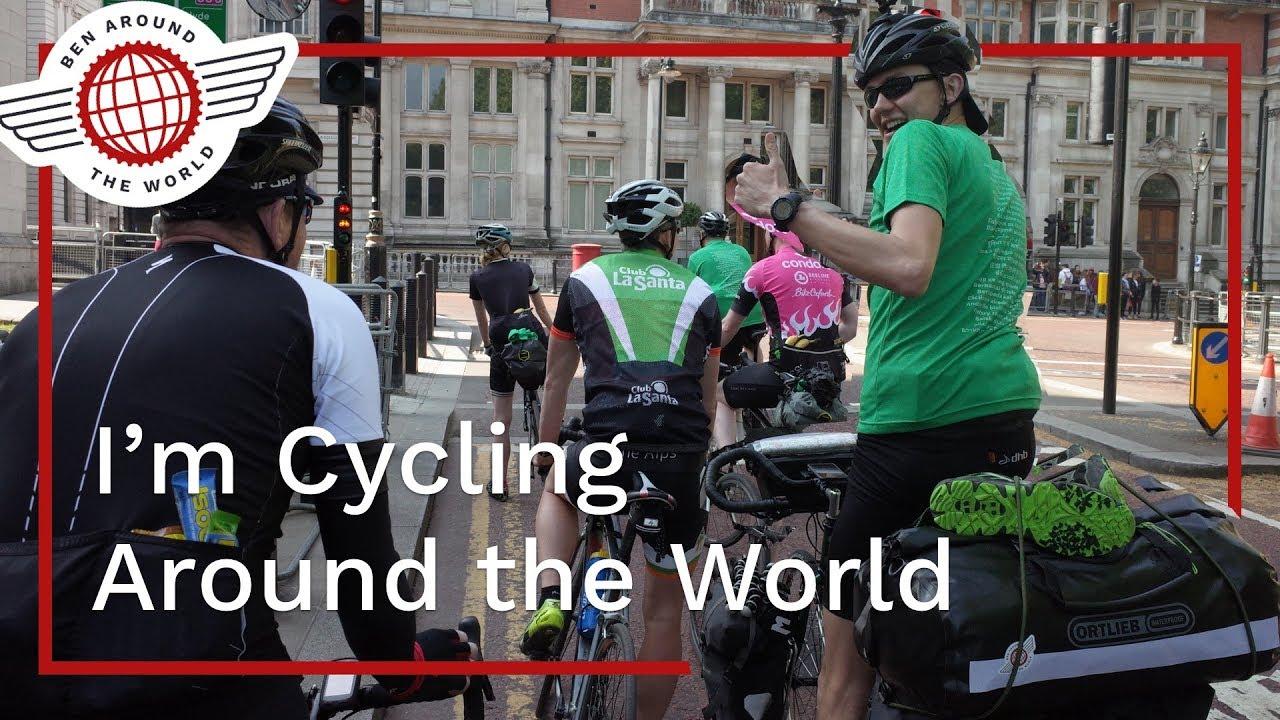 I'm Cycling Around the World!