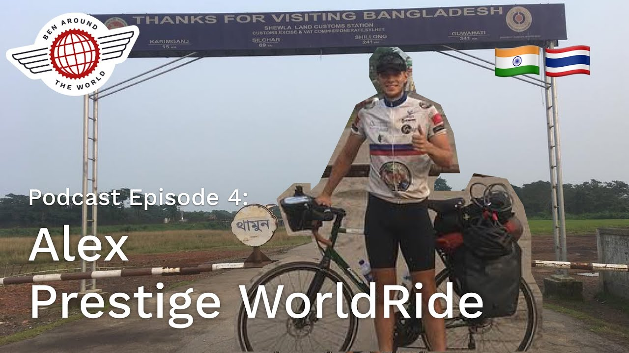 Chat with Alex – Prestige WorldRide – Ben Around the World Podcast: Episode 4