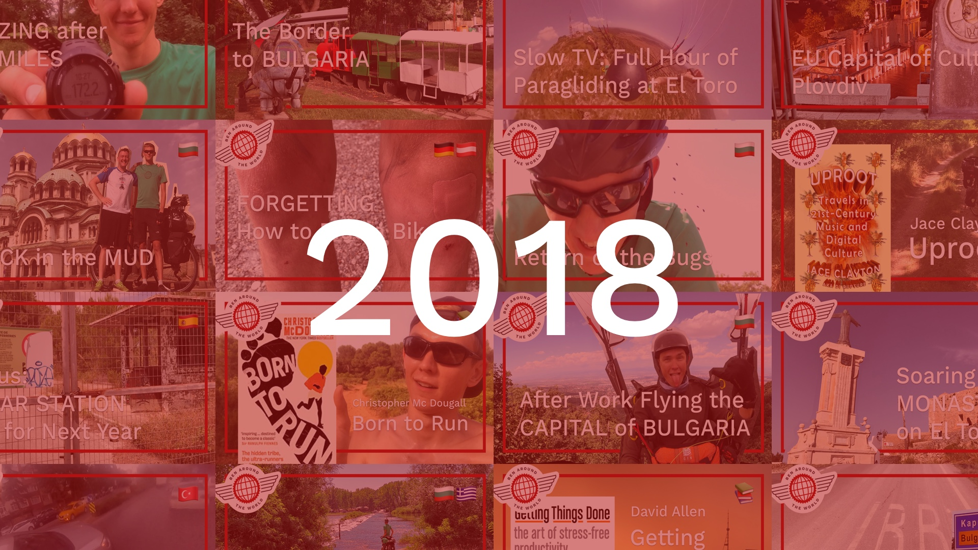 Year in Review – Ben Bowler in 2018