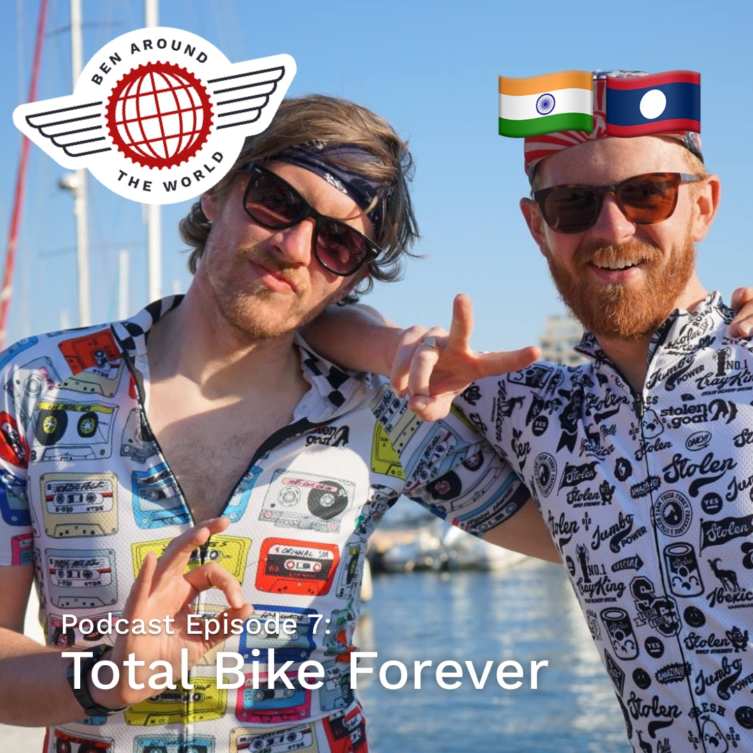 Chat with Tim & Adam from Total Bike Forever – Ben Around the World Podcast: Episode 7