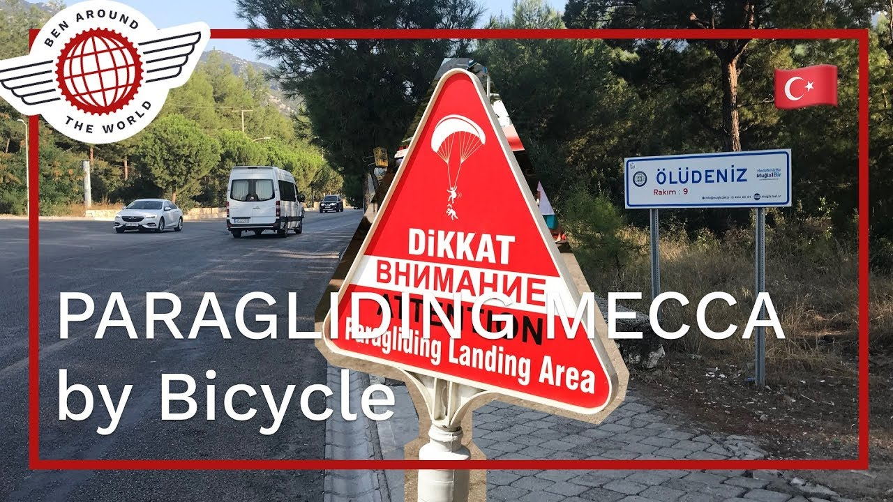 PARAGLIDING MECCA by Bicycle, Oludeniz