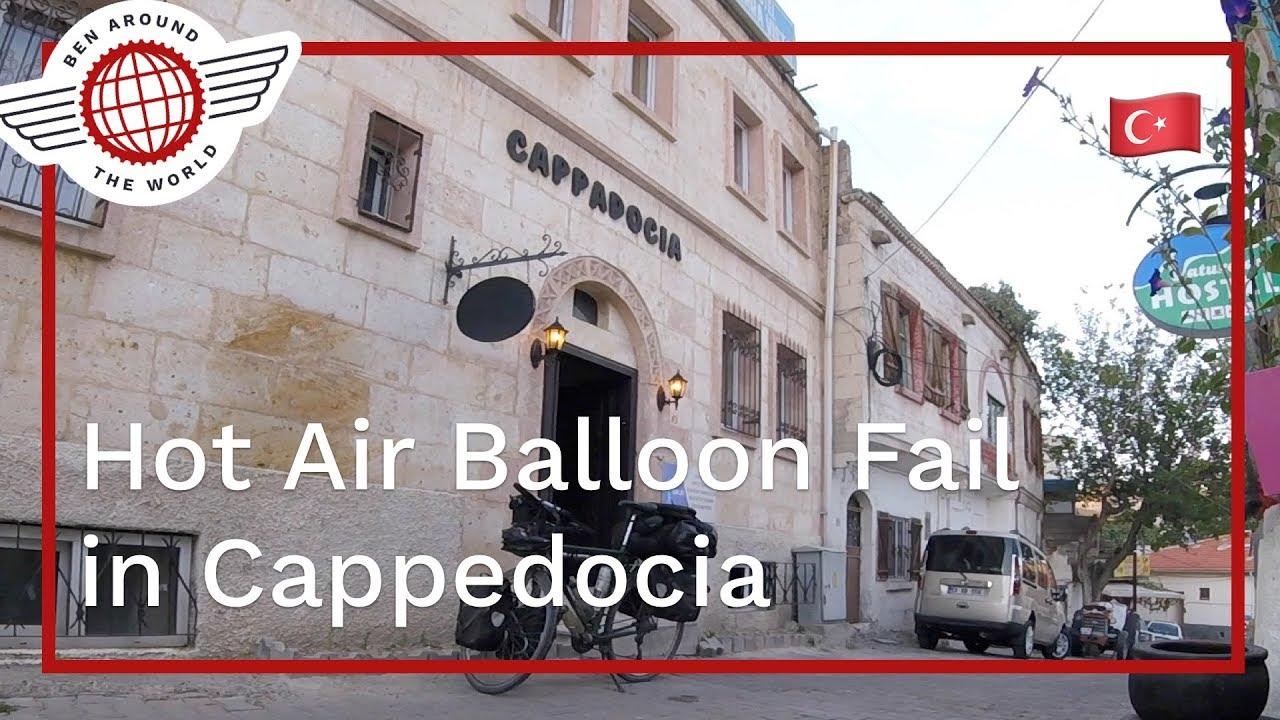Hot Air Balloon Fail in Cappadocia