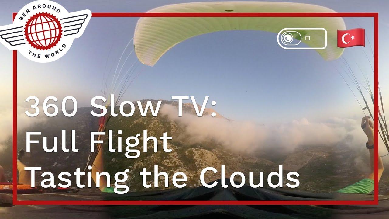 SlowTV in 360: Oludeniz Full Cloud Flight