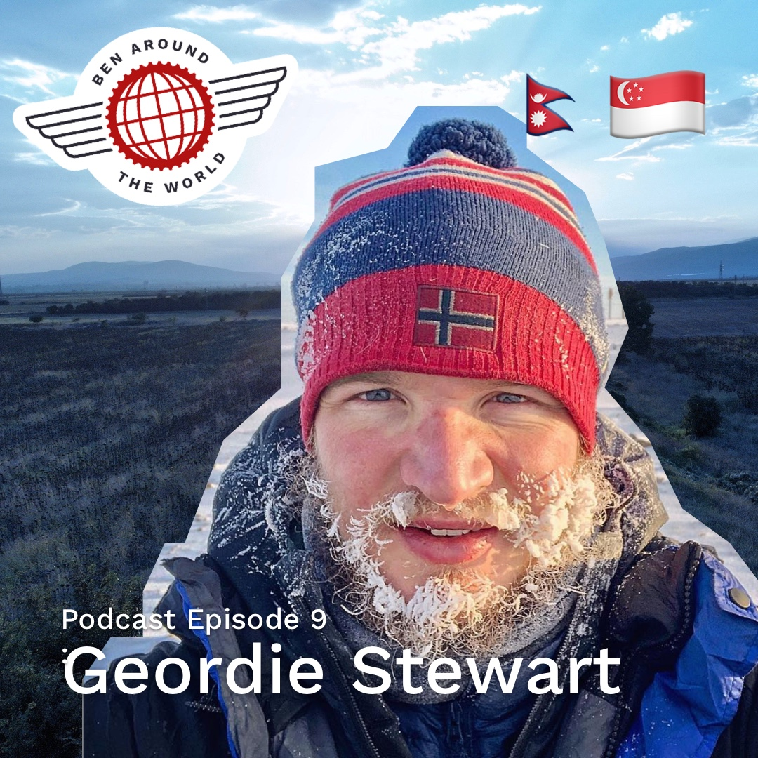 Chat with Geordie Stewart – Author of In Search Of Sisu – Ben Around the World: Episode 9
