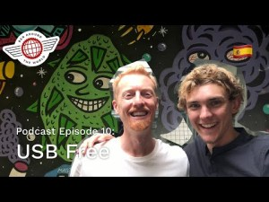 USB Free – Ben Around the World Podcast – Episode 10 – Live from HQ Barcelona