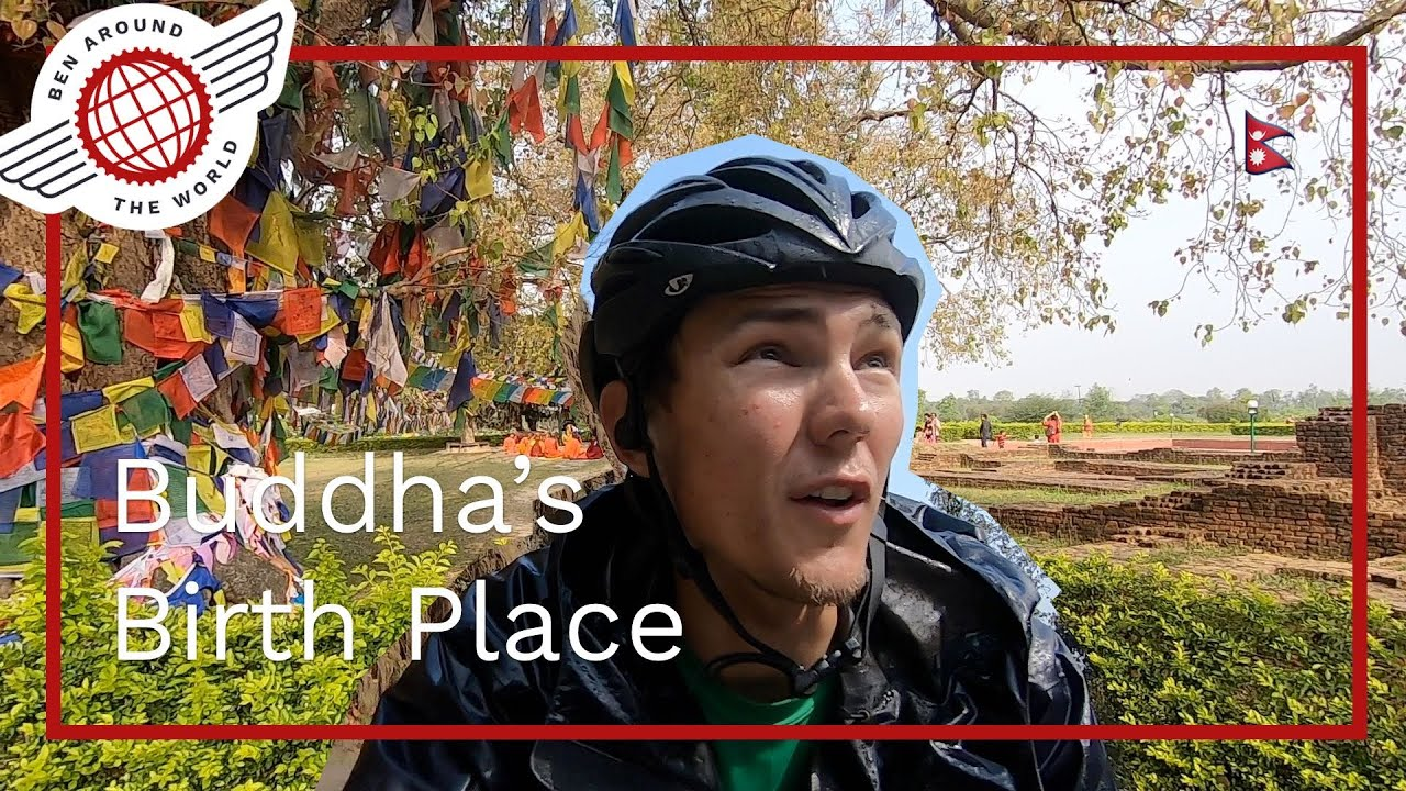 Birthplace of the Buddha by Bike –  Lumbini Cycle Tour – Maya Devi Temple