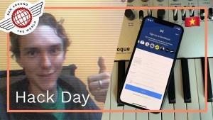I Made an App – SendMusic Hack Day #gridreel