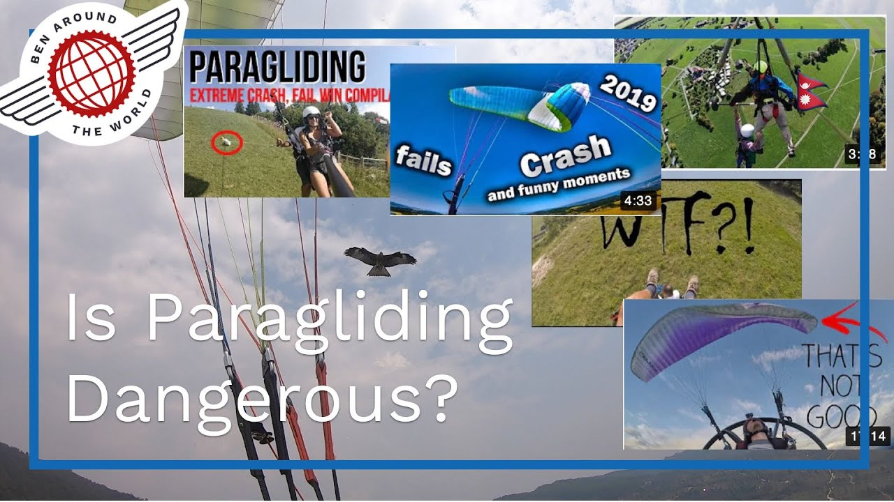 Is Paragliding Dangerous? – Lake Pokhara Free Flight Diary