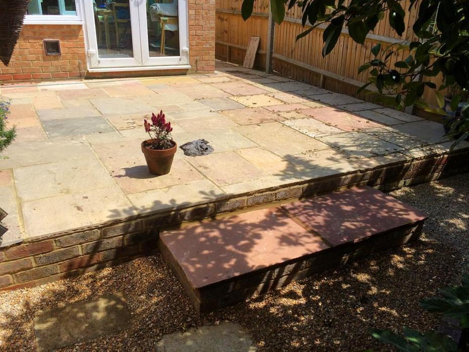 Brick Garden Patio Paving