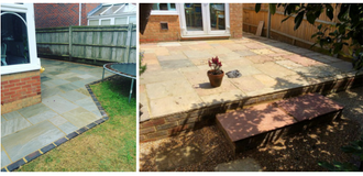 Garden Brick Patio and Paving