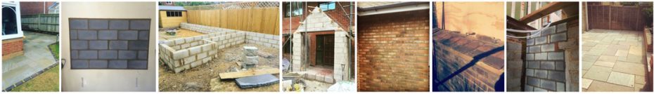 Various Brickwork Building Services - Header