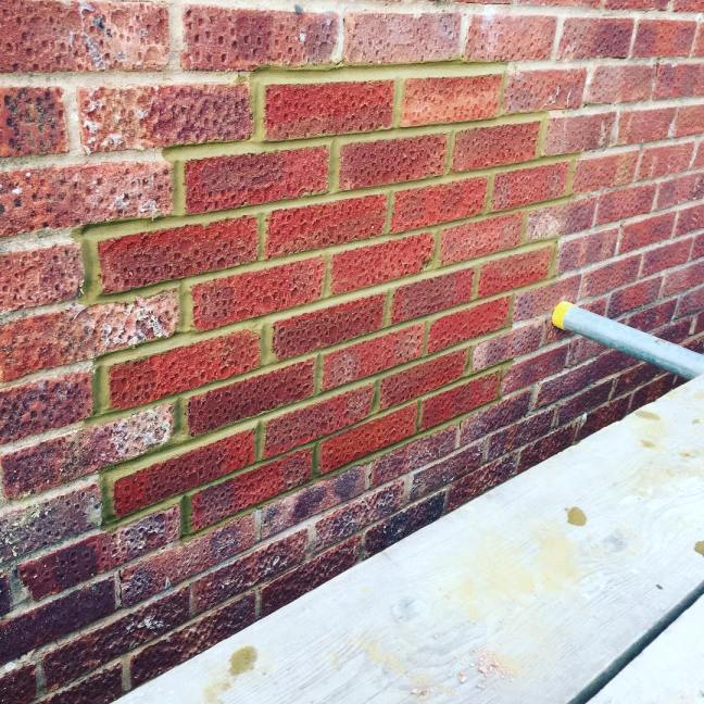 Brickwork repair in Burgess Hill