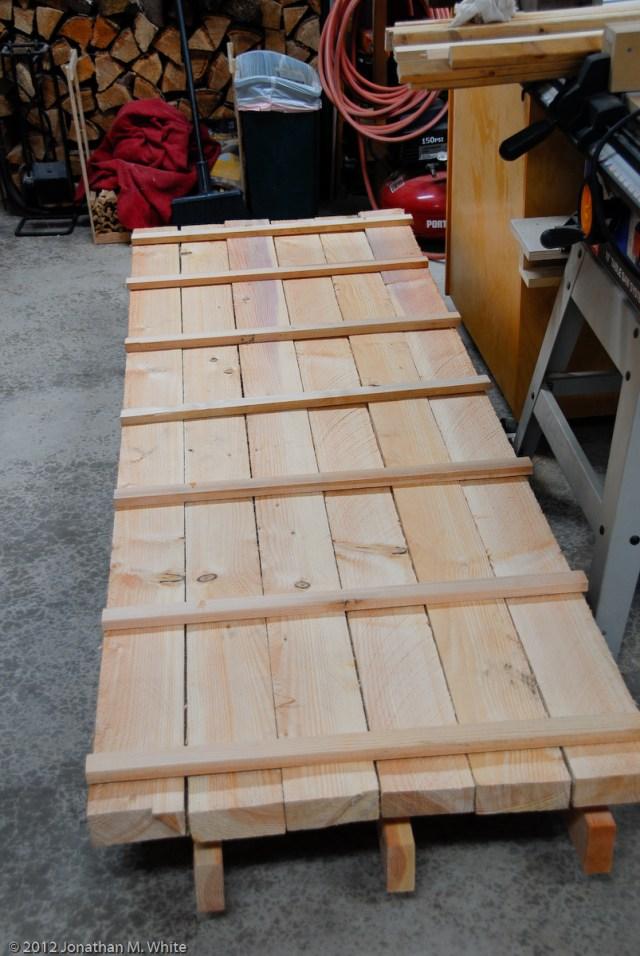 Lumber Drying Stack