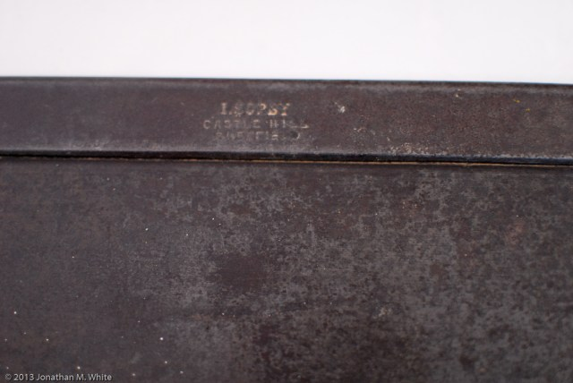 "I. Sorby 14"" Tenon Saw in as purchased condition and before any restoration work."