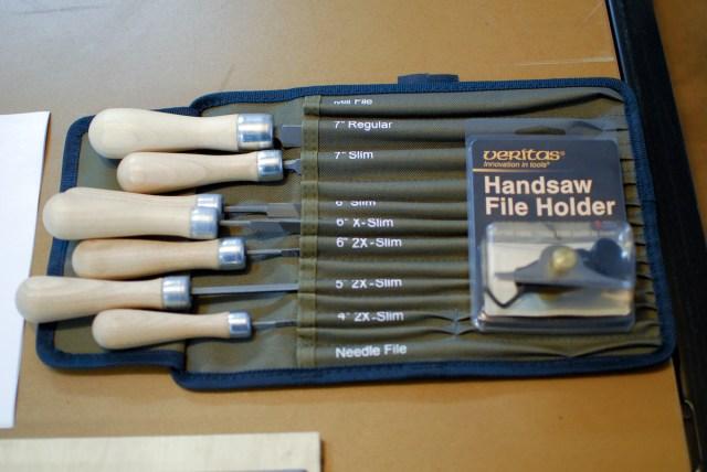 Veritas saw file set and Veritas File Holder.