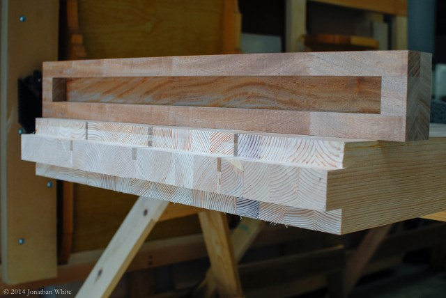 I planed down the tongue until the breadboard end fit just right.