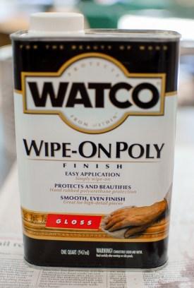 Watco Wipe-On Poly - Hi Gloss