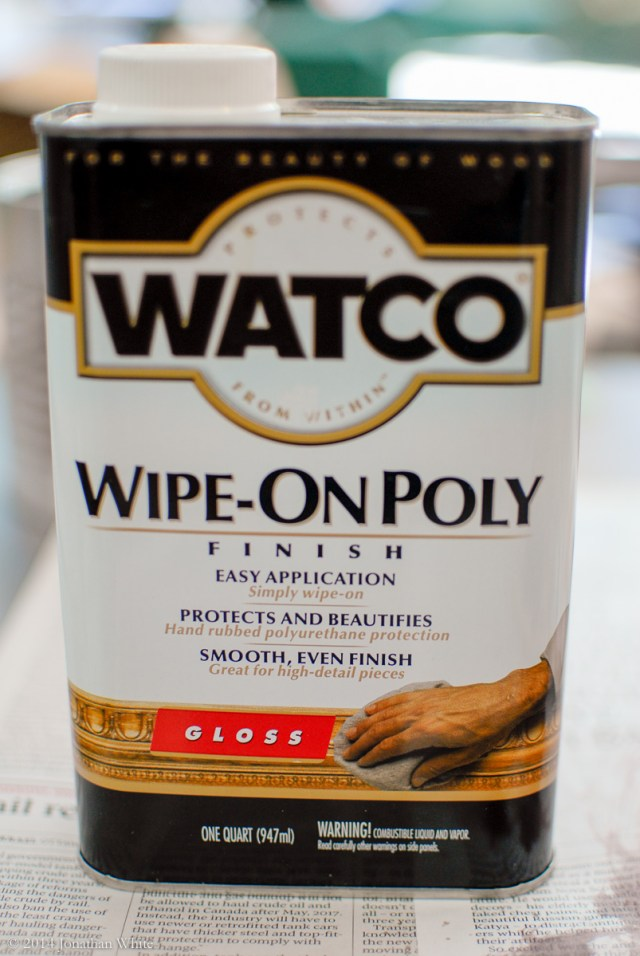 Watco Wipe-On Poly - Hi Gloss
