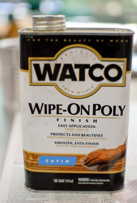Watco Wipe-On Poly - Satin