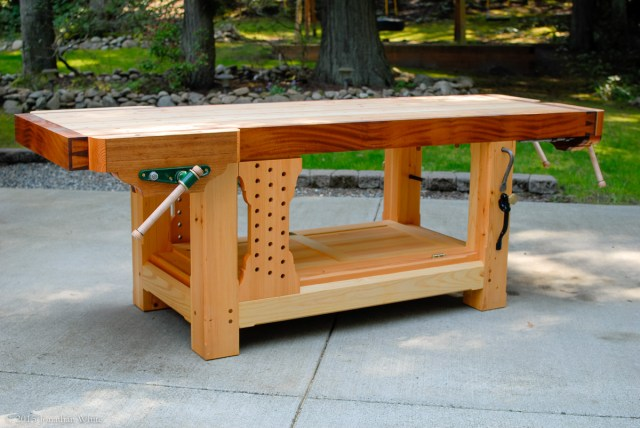The Ambidextrous Grizz-ubo Workbench.