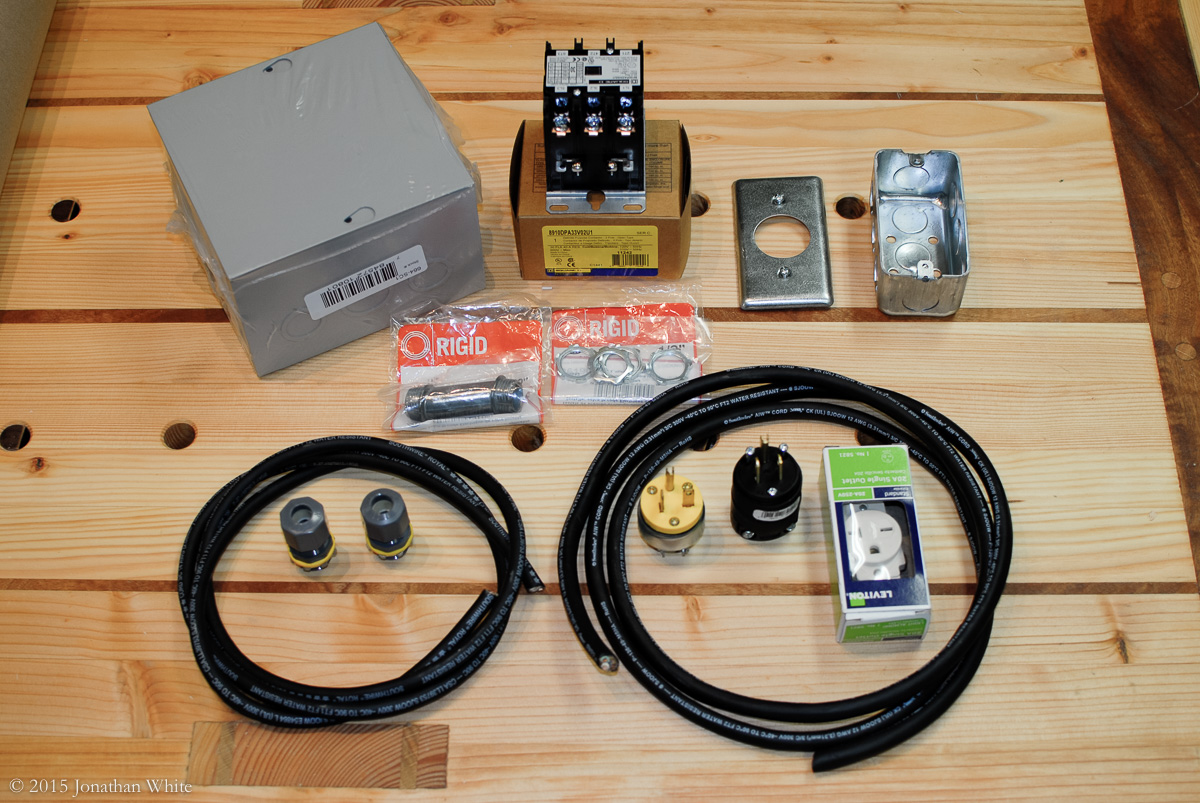 How To Set Up A Wireless Remote Control Switch For Your Wood Shop Low Voltage Mains The Electrical Parts That I Purchased Build System Dust Collector