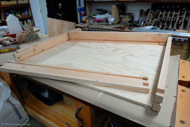 Getting ready for glue-up.