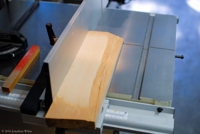 I then ripped 1 ½ - inch square blanks.