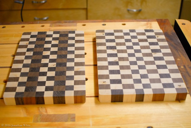 I rounded the corners at the disk sander.