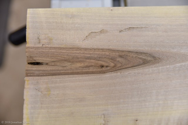 Now, that bit looks like walnut!