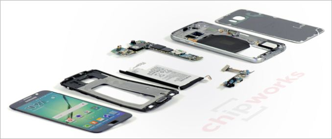 Chipworks:一起來看 Samsung GALAXY S6 內部零組件