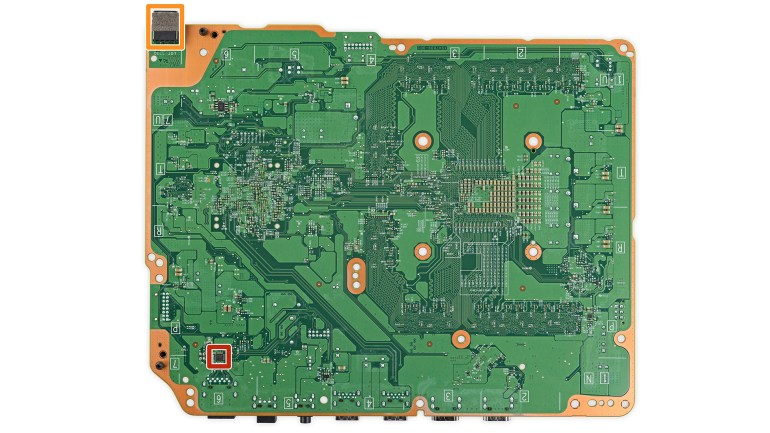 xbox one s pcb back