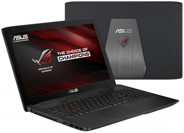 ASUS Republic of Gamers presenta el GL552