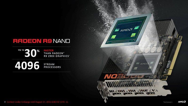 AMD podría lanzar la R9 Nano a 650 dólares