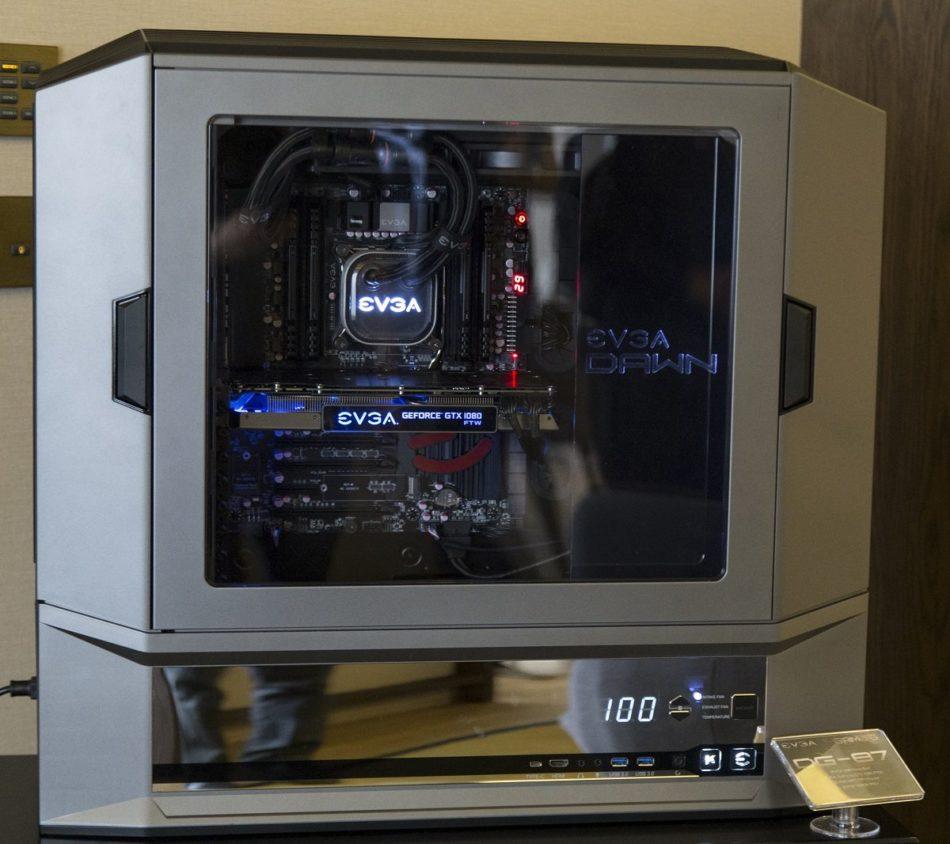 Computex 2016: EVGA muestra sus nueva torre y la GTX 1070 SC