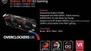 Revelados más detalles sobre la Gigabyte RX 480 G1 Gaming