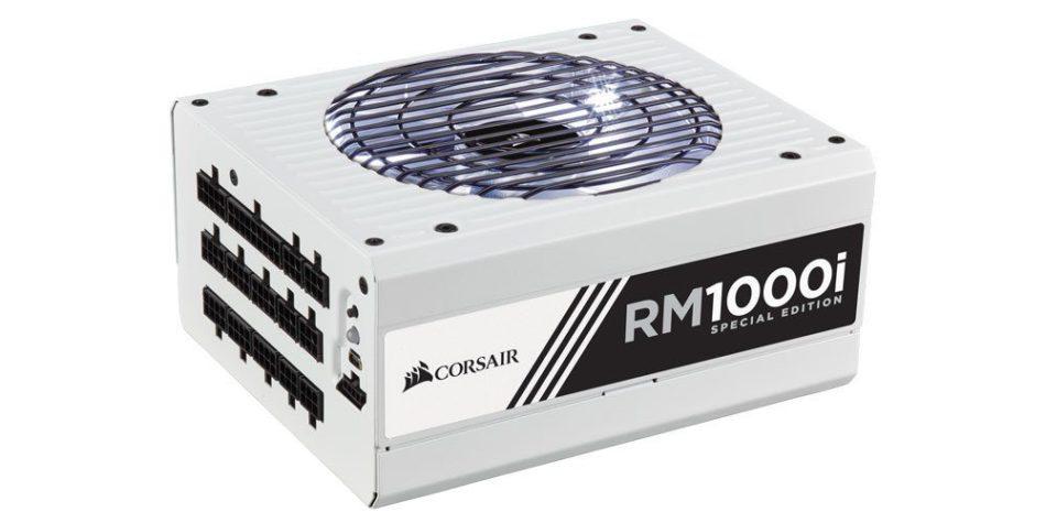 CORSAIR celebra diez años de PSU con la edición limitada RM1000i Special Edition y los cables Premium PSU