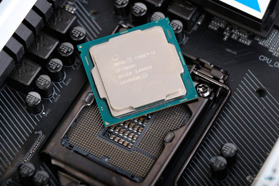 Intel i3-7350k más potente que i5-6400 y i5-4670k
