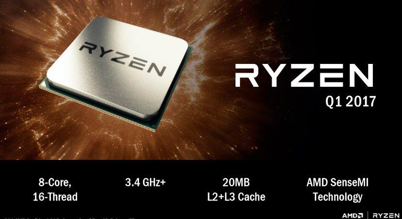 AMD Ryzen supera en varios benchmarks al Intel Core i7-7700K