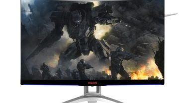 Dos nuevos monitores curvos de AOC AGON para gaming