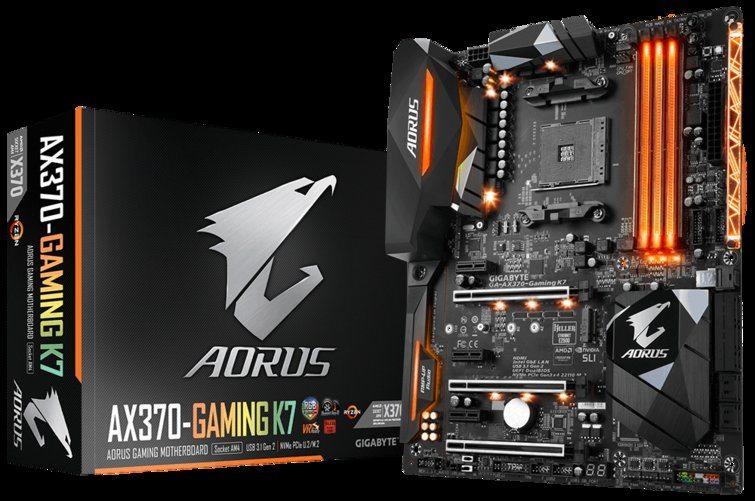 Aorus GA-AX370-Gaming K7, gama alta de Gigabyte en AM4