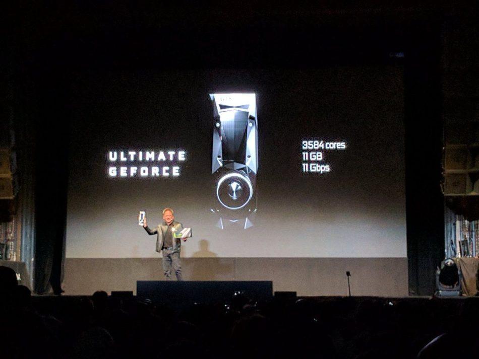 NVIDIA GTX 1080 Ti presentada oficialmente por 699$